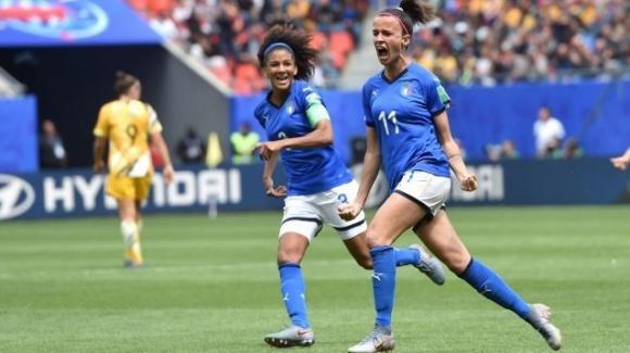 Mondiali di calcio femminile: Australia-Italia 1-2, una doppietta di Barbara Bonansea decide il match