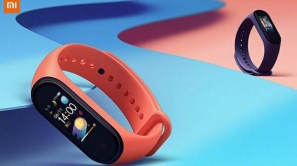Xiaomi Mi Band4: ufficiale la nuova smart band low cost con display AMOLED e nuove funzioni