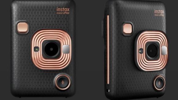 Instax Mini LiPlay: da Fujifilm la fotocamera a sviluppo istantaneo che immortala anche l'audio