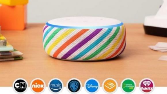Echo Dot Kids Edition: da Amazon lo smart speaker dedicato ai pargoli di casa