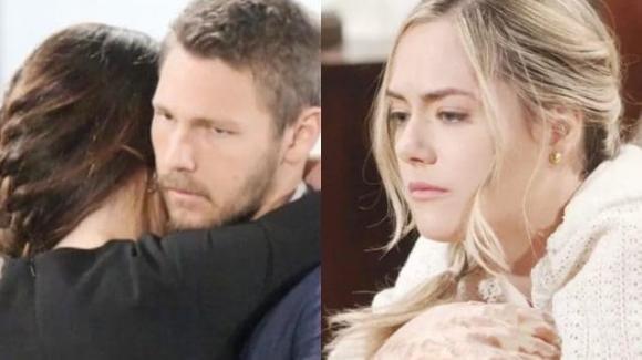 Beautiful, anticipazioni dal 17 al 21 giugno: Steffy dichiara il suo amore a Liam e Hope rischia di abortire