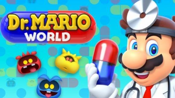 Dr. Mario World: il celebre rompicapo anni '90 di Nintendo torna su Android e iOS