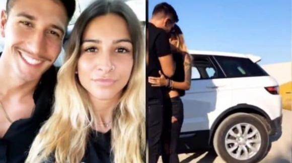 Grande Fratello 16, bacio tra Gianmarco Onestini ed Erica Piamonte