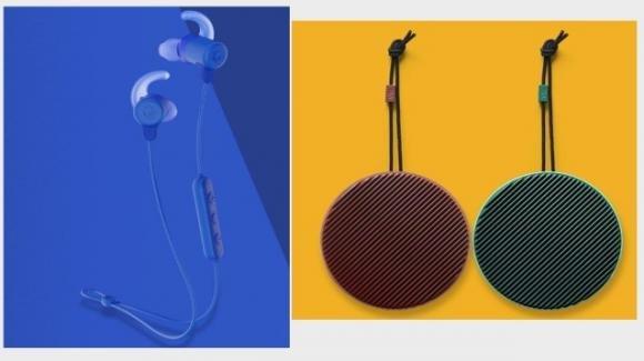Cuffie e speaker wireless colorati per l'estate, grazie a Skullcandy e Vifa (Xiaomi)