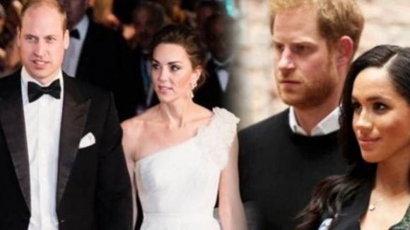 Harry e Meghan Markle sempre più lontani da Kate e William
