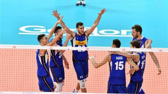 Volley Nations League: Italia-Serbia 3-0