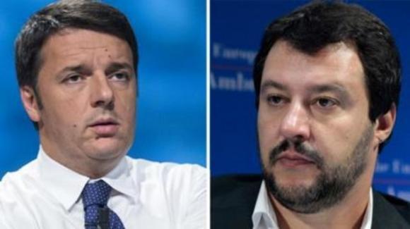 """Renzi contro Salvini: """"piagnucola disperato chiedendo 10 miliardi. Ennesima pagliacciata"""""""