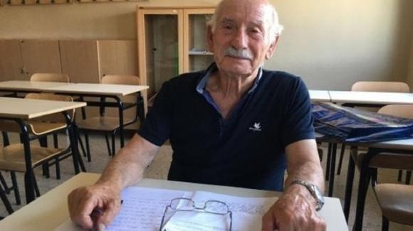 Corato, prende la licenza media a 83 anni