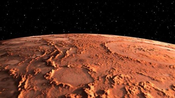 Quantità di metano più grande mai rilevata: è la prova della vita sul pianeta rosso?