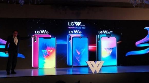 LG schiera le tre punte in India, con gli smartphone low cost LG W10, W30 e W30 Pro