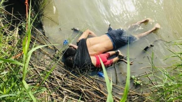Padre e figlia annegati nel Rio Grande nel tentativo di raggiungere le sponde americane
