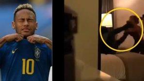 Neymar accusato da una modella brasiliana di violenze. Un video lo incastra