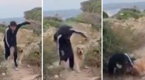 """Gianni Morandi cade sul set de """"L'isola di Pietro"""": immagini virali"""