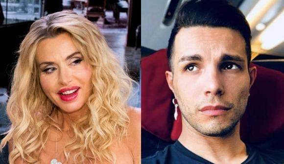 Valeria Marini commenta l'arresto per furto di Marco Carta