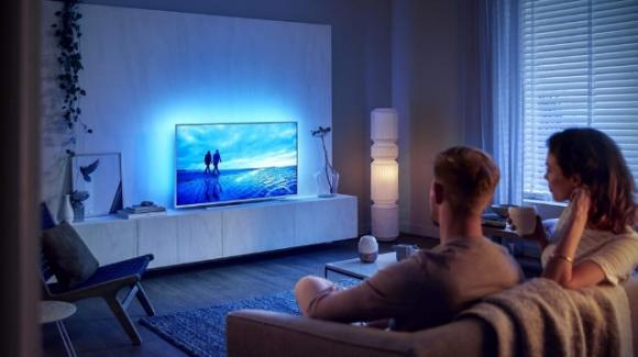 Philips The One: arrivano in Italia le smart TV 4K con HDR, Dolby (Vision/Atmos) e comandi vocali