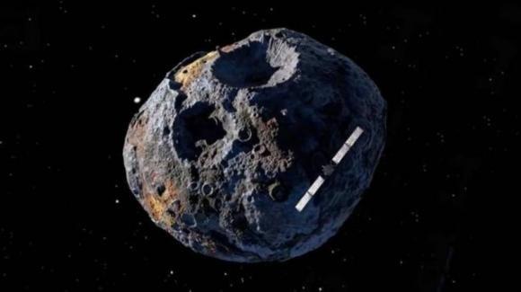 """La Nasa vuole raggiungere """"Psyche 16"""", il meteorite carico di metalli preziosi"""