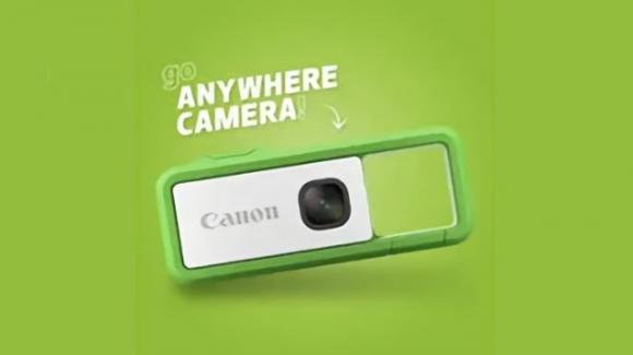Canon mette nel mirino le action camera con la ultracompatta Canon IVY REC