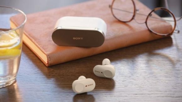 SonyWF-1000XM3: in arrivo le cuffie true wireless premium con cancellazione attiva e smart del rumore
