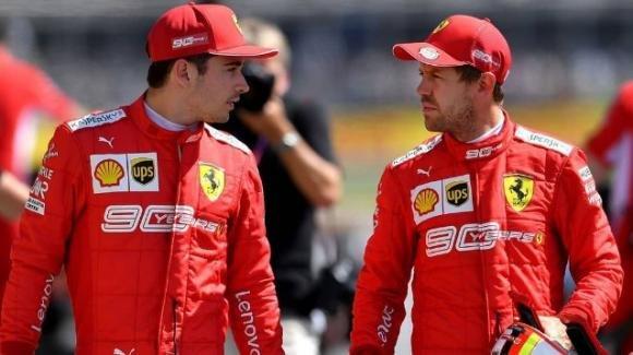 """F1: anche Leclerc non crede al ritiro di Vettel: """"Mi sembra più motivato che mai"""""""