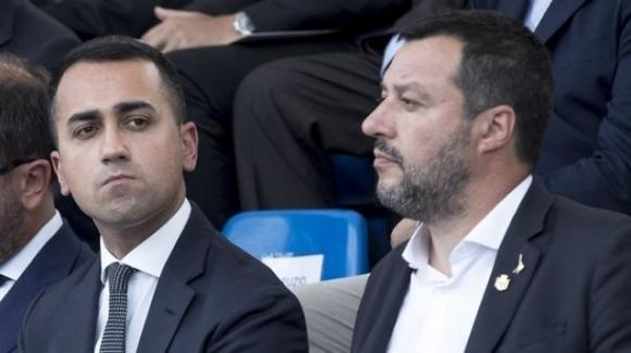 """Nuova crisi di Governo. Salvini: """"M5S e Pd alleati"""", Di Maio: """"vuole coprire i fondi russi"""""""