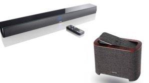 Smart Soundbar 9 e Lumiford 2.1: i diffusori audio smart incontrano l'eleganza e la poliedricità