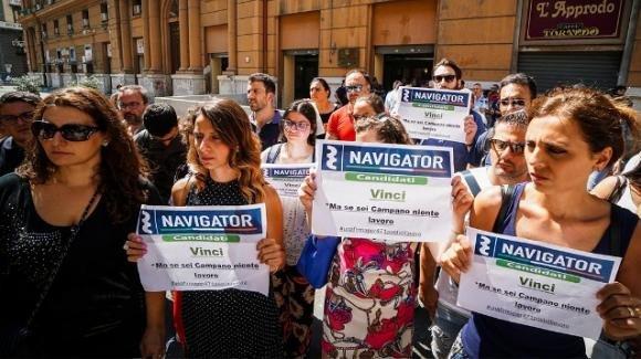 Navigator: blocco assunzioni in Campania