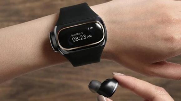 Aipower Wearbuds: ecco la smartband con auricolari in-ear true wireless incorporati