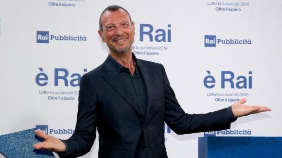 """Sanremo 70, Amadeus confermato come conduttore e direttore artistico: """"Il sogno di una vita"""""""