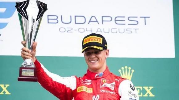 Il figlio di Michael Schumacher, Mick, vince il Gp d'Ungheria di Formula 2