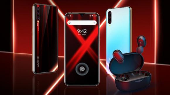 Umidigi X: ufficiale lo smartphone con scanner in-display e auricolari in-ear abbinati