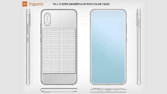 Xiaomi: ecco il brevetto per lo smartphone che si ricarica con il Sole