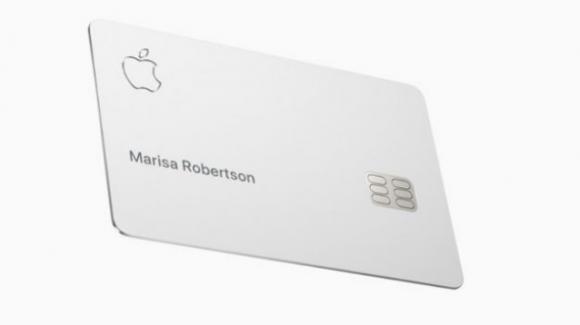 Apple distribuisce le sue prime 'Apple Card' sul territorio statunitense