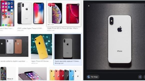 Google rivede la ricerca per immagini, sfruttando gli schermi ampi, per lo shopping