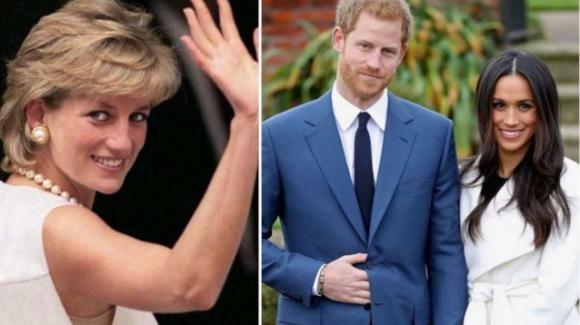 Lady Diana, l'omaggio commovente del Principe Harry e di Meghan Markle