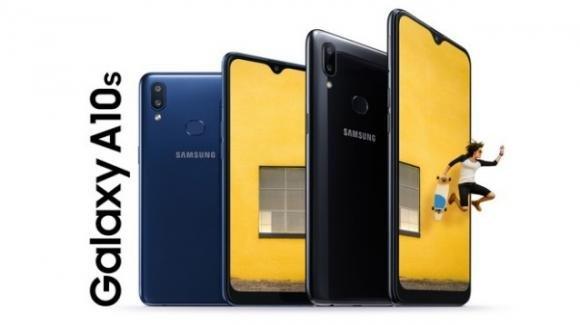 Samsung Galaxy A10s: smartphone entry level con dual cam e 4.000 mAh