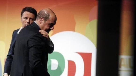 """Zingaretti su Renzi: '""""Se usasse l'accordo con il M5S, la cosa si commenterebbe da sola"""""""