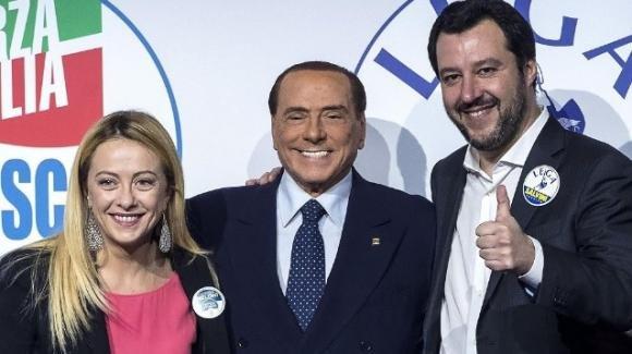Matteo Salvini pronto all'alleanza con Berlusconi e Meloni