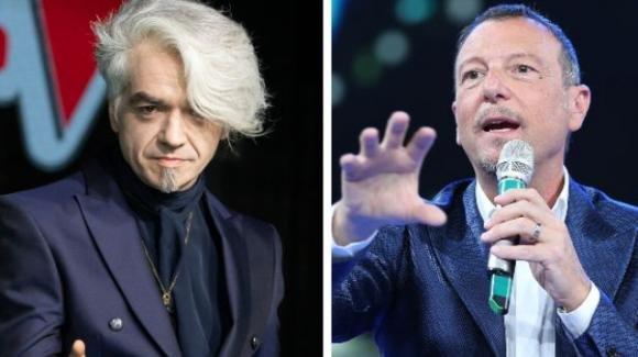 """Morgan spara a zero contro Amadeus a Sanremo: """"Come un elettricista chiamato a riparare un lavandino"""""""