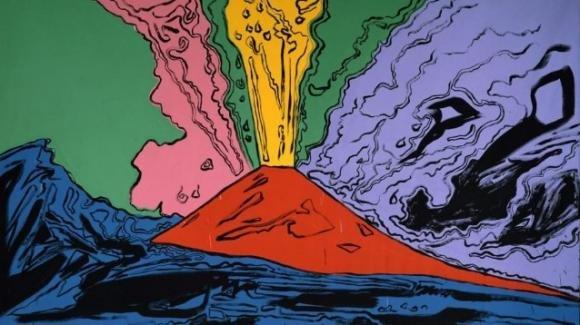 Napoli, alcuni grandi artisti celebrano il Vesuvio in una mostra