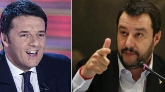 "Renzi dichiara guerra a Salvini: ""Vediamo chi prende più voti"""