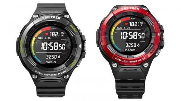 Casio WSD-F21HR: lo smartwatch per sportivi outdoor ora anche con cardiofrequenzimetro