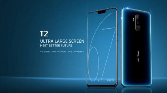 Ulefone T2: ufficiale lo smartphone medio-gamma con velleità da phablet