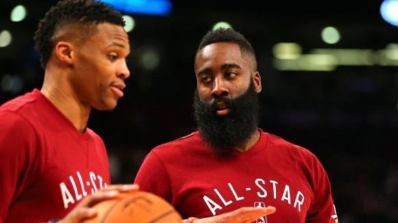 NBA anteprima 2019-2020, Houston Rockets: con Harden e Westbrook punti a raffica, basteranno per il titolo?