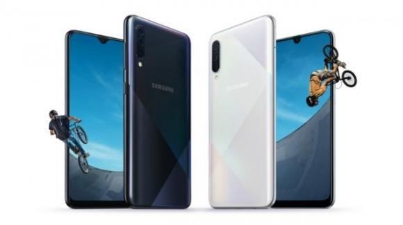 Anticipati i medio-gamma Samsung Galaxy A30S e A50S, più stilosi e con migliori fotocamere