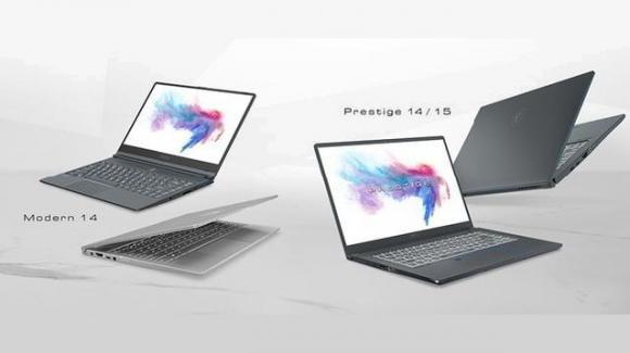 MSI snobba l'IFA 2019, e anticipa due portatili Prestige e un notebook Modern