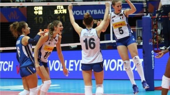Volley femminile, Europei 2019: Italia-Portogallo 3-0