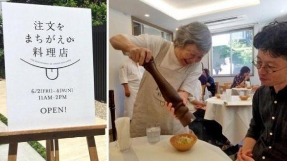 """Giappone: camerieri svagati e clienti sorridenti nel """"ristorante degli ordini sbagliati"""""""