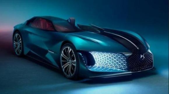 DS X E-Tense: nel 2035 arriva la dream car elettrica e autonoma del gruppo PSA