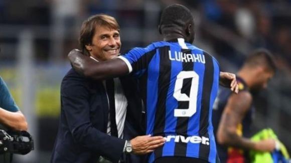 Serie A: buona la prima per Conte, la sua Inter doma il Lecce per 4-0