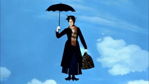 Mary Poppins: risale a 55 anni fa la sua prima proiezione cinematografica